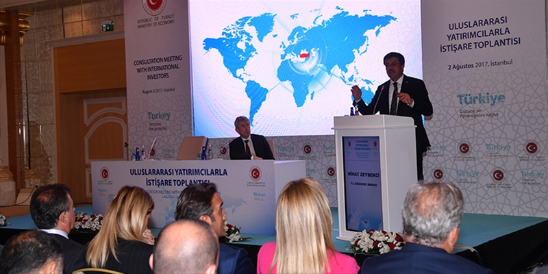 Minister of Economy Zeybekci came together with YASED Members